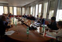 riunione sulla Roma-Latina