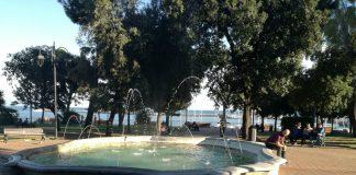 fontana Villa comunale Umberto I Formia