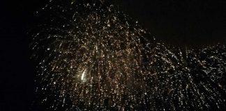 fuochi d'artificio a cisterna