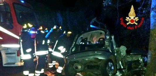 Incidente mortale a Monte San Biagio