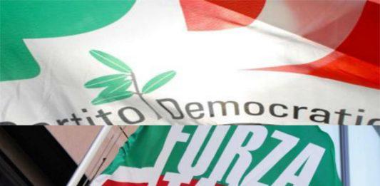 Pd e Forza Italia