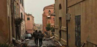 Tromba d'aria a Terracina
