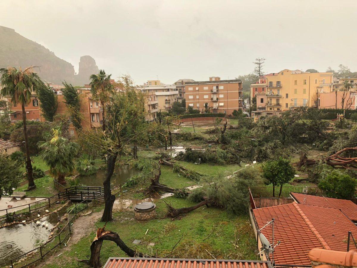 maltempo Terracina