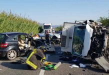 incidente mortale a Sezze