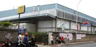 demolizione ex stabilimento Panapesca Gaeta