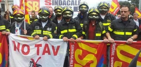 vigili del fuoco precari