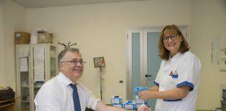Giorgio Casati test HIV