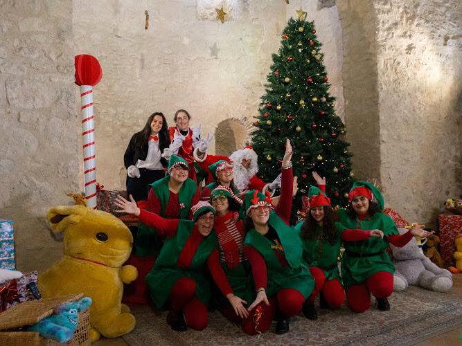 eventi Castello Babbo Natale Itri