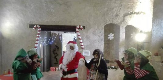 Castello Babbo Natale Itri