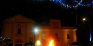 accensione ceppo di Natale Formia
