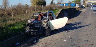 incidente stradale a Campoverde