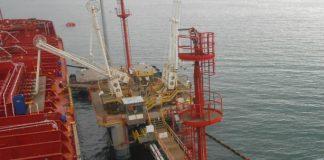 pontile Petroli Eni Golfo di Gaeta