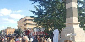 vigili del fuoco in piazza San Marco
