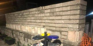 muro via Tullia