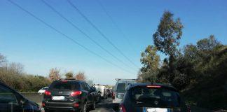 Pontina traffico incidenti