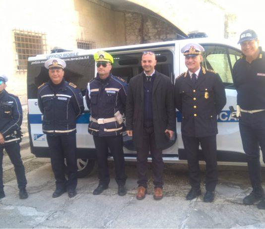 ufficio mobile polizia Terracina