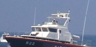rete da pesca abusiva Ponza