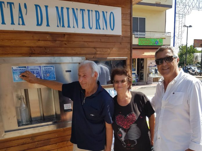cassetta dell'acqua Minturno