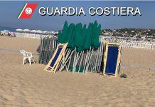 occupazione abusiva spiaggia libera
