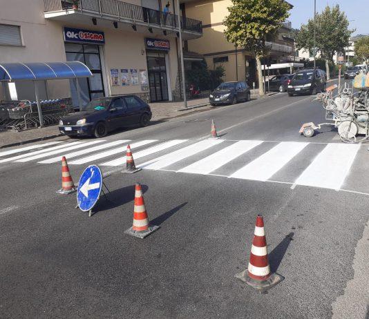 lavori segnaletica Itri
