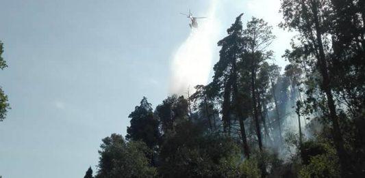 incendio Monte San Biagio