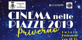 cinema all'aperto Priverno
