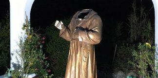 statua decapitata Ponza