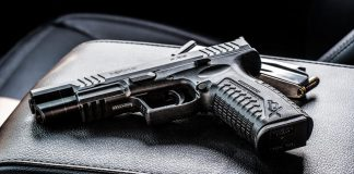pistola in auto