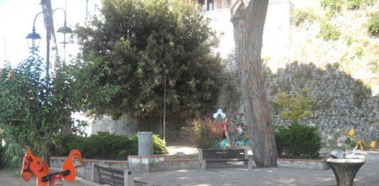 chiusura villa comunale Minturno
