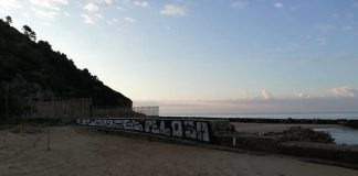 scritte vandaliche Sperlonga