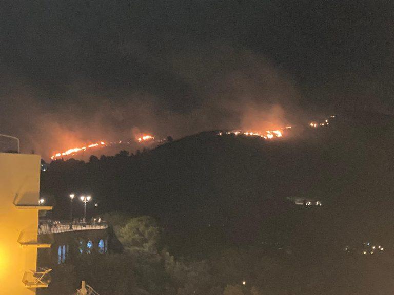 """Incendi, Fondi Vera: """"Un'estate terribile per il nostro territorio"""""""