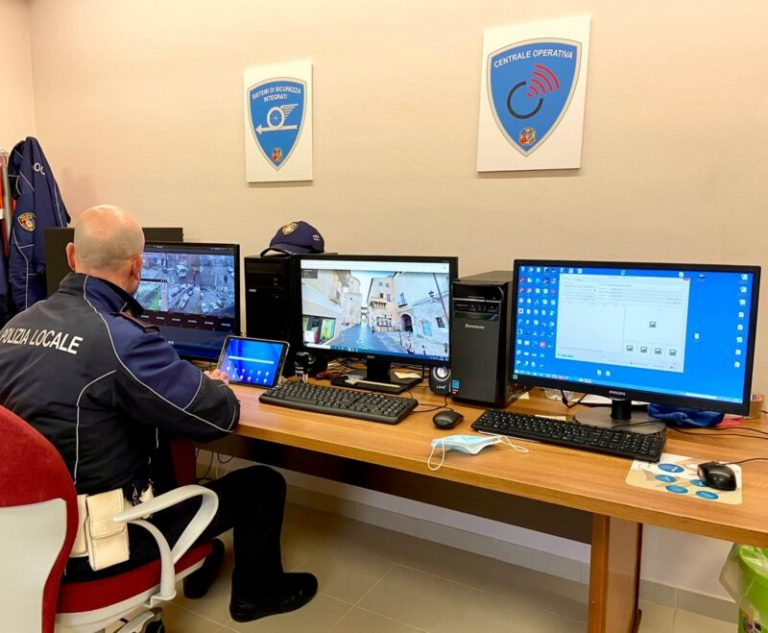 Nuove telecamere intelligenti per la sicurezza dei cittadini di Fondi e Monte San Biagio