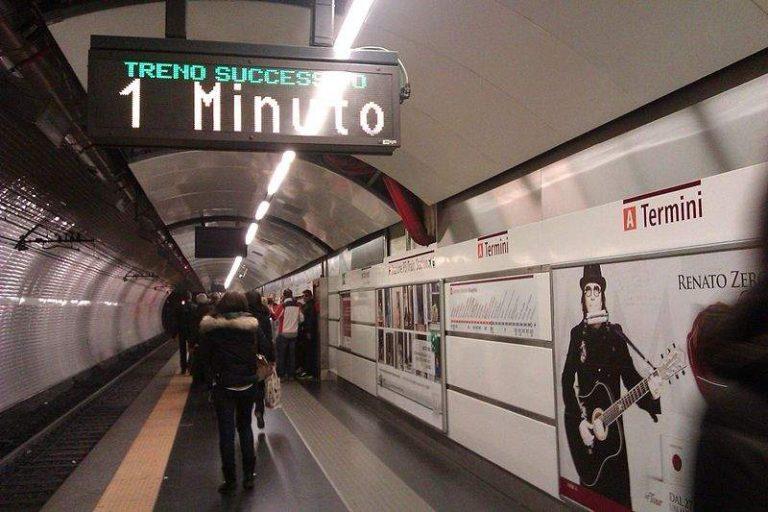 Atto vandalico sulla metro A di Roma: tanti i pontini rimasti bloccati
