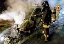 intervento figili del fuoco a cisterna 07/03/2021