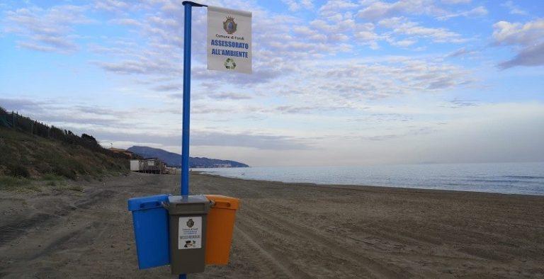 A Fondi si lavora per rendere il litorale sempre più Blu