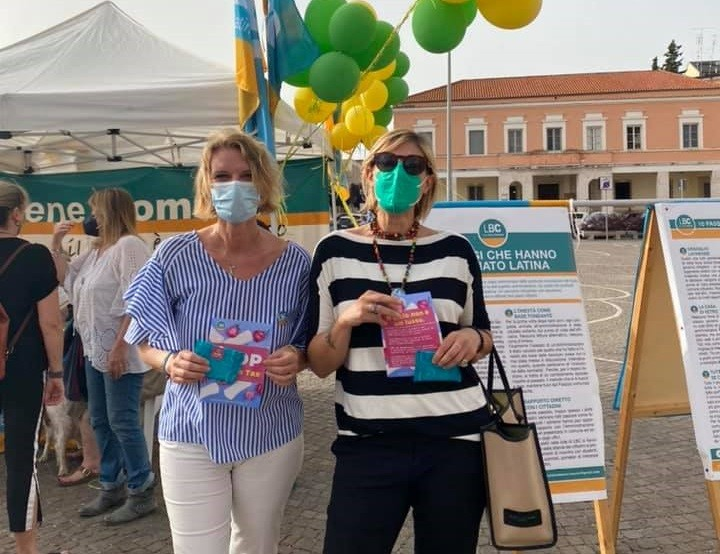 """Iva al 10% sui prodotti igienici femminili, Elettra Ortu La Barbera: """"Latina modello di azione partita dal basso"""""""