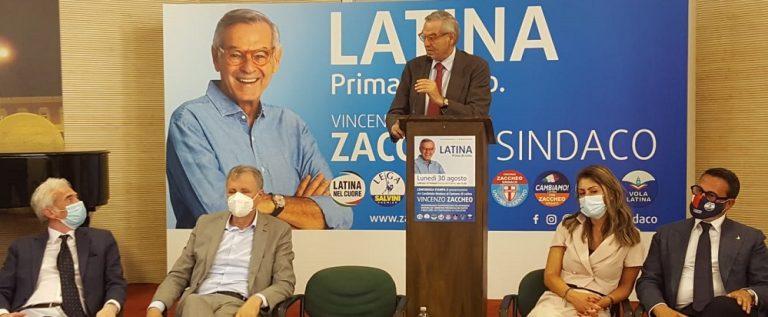 """Elezioni, Zaccheo: """"Per Latina sogno cittadella universitaria e scuola della pubblica amministrazione"""""""