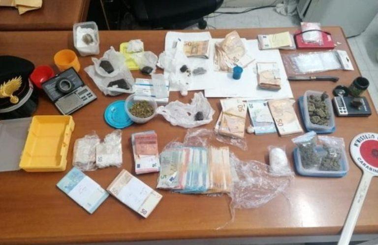 """Cisterna, due arresti e tre denunce per """"detenzione ai fini di spaccio di sostanze stupefacenti"""""""