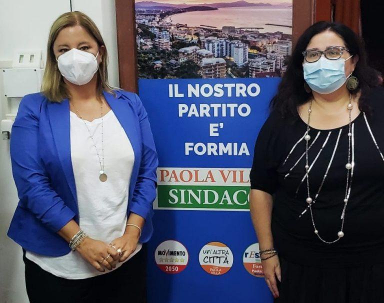 Elezioni, Formia: L'assessore regionale Lombardi incontra la candidata sindaco Paola Villa