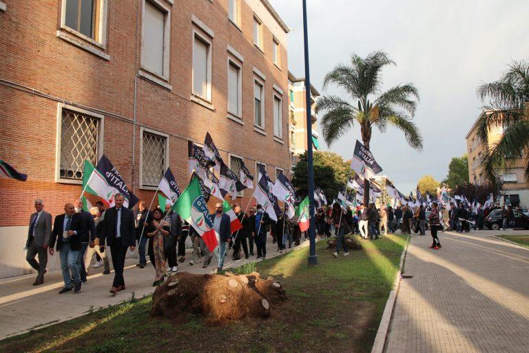 """Corteo FdI Latina, Calandrini: """"Abbiamo dimostrato il nostro modo di fare campagna elettorale"""""""