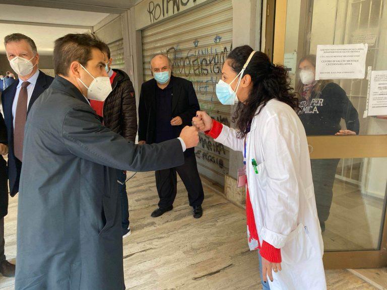 Cisterna, la visita di D'Amato e Mantini all'Asl indigna il candidato sindaco Merolla