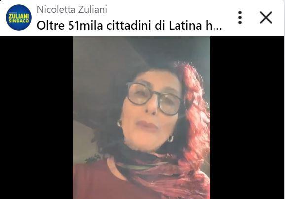 """Amministrative Latina, Nicoletta Zuliani: """"Oltre 51mila astenuti sono una città nella città"""""""